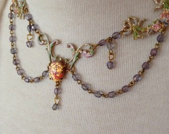 Fairy Tale Princess Opal Necklace