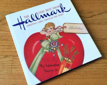 Vintage The Very Best From Hallmark - Greeting Cards Through the Years by Ellen Stern 1988 / Mixed Media Crafting Ephemera