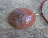 Agate jewelry - the orange planet - round chunky gem stone jewelry naturally sourced in Australia.
