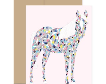 Party Horse Card
