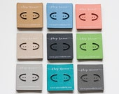 Custom 2x2 Cardstock Earring Cards - Many Colors Available