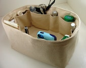 Purse Organizer Insert - fits LV Speedy 30 - Inside pockets only - Choose color from drop down menu.