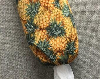 Pineapple Plastic Bag Dispenser/Plastic Bag Holder