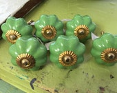 Knobs - Lime Green