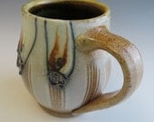 Salt Glazed Fish & Stripes Mug