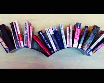 Bird Bookshelf - Engine Turned