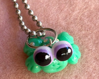Tiny Frog necklace