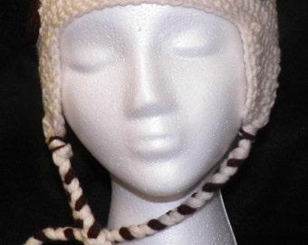 Puppy Dog Crocheted Hat
