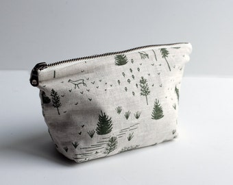 Small Traveler Pouch - Green Homestead