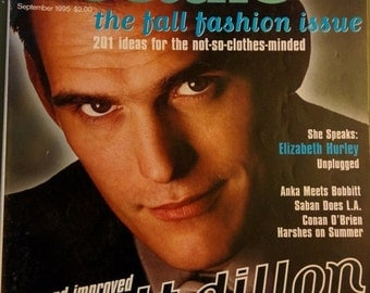 SALE Details 1994 Matt Dillon