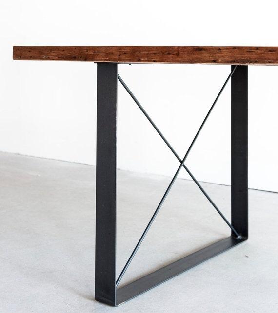 Railcar Dining Table Handmade Reclaimed Wood By Crofthousela