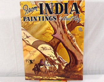 Walter Foster Art Instruction, From India Paintings By Arul Raj, Vintage Book