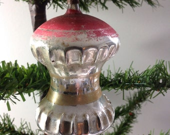 Vintage Large Sized Spinning Top Christmas Tree Ornament (0-160)