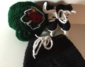 Baby Hockey Skates, Helmet, and Hockey Pants, Minnesota Wild