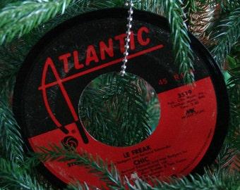 Chic Le Freak Record Ornament