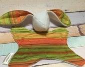 Bunny lovey - montana sunset- babywearing - ready to ship