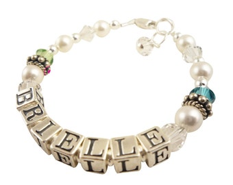 Bracelet with Name personalization for girls