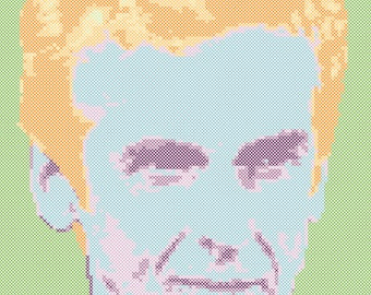 The Twelfth Doctor Cross Stitch Pattern PDF