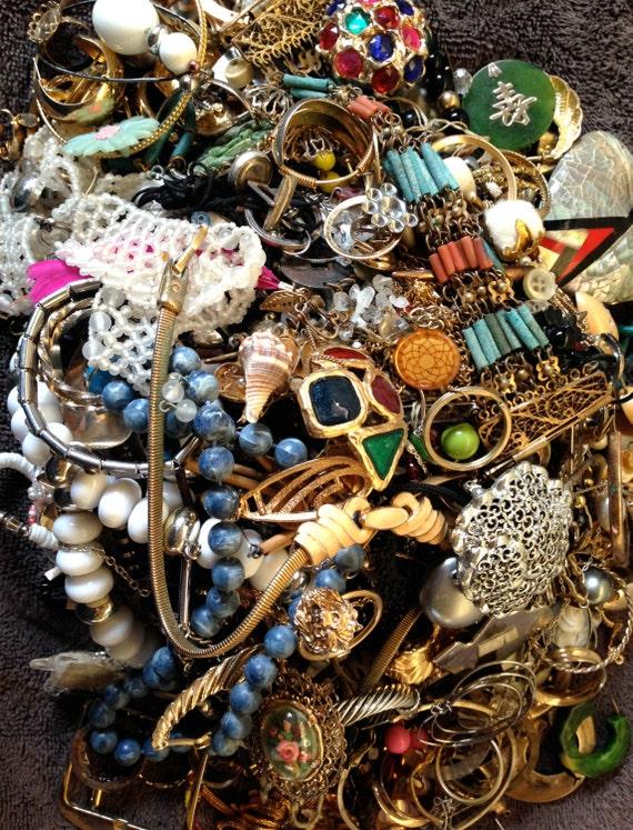 vintage junk jewelry lot 2