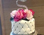 Custom Wedding Cake Replica Ornament