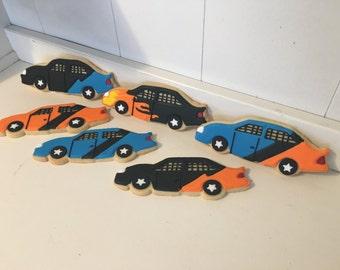 Race Car Cookies - 1 dozen