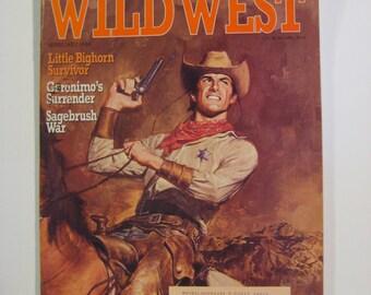 Wild West Magazine February 1994, Wild West Publication, Cowboy Magazine, Cowboy Publication, Wild West Book, Wild West Paperback