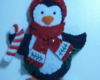 Bucilla PENQUIN Ornament  from the Trimming the Tree Collection