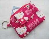 Zippy Wallet Pouch Key Hello Kitty Card holder -
