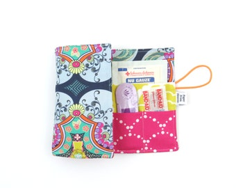 First Aid Kit - Brit Boutique - emergency kit first aid pouch medicine bag diaper bag