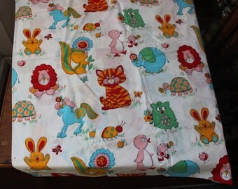 "Juvenile cotton Fabric infant baby child VINTAGE 36"" width 4 yards 35"" long Novelty VINTAGE by Plantdreaming"