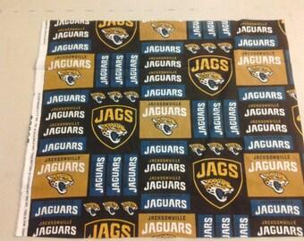 Jacksonville Jaguars Fabric 245055