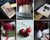 dark and moody postcard sets