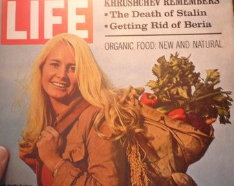 Life Magazine 1970 Organic Food issue - Mad Men era - December 11  great retro issue - ads, fashion - Complete Issue