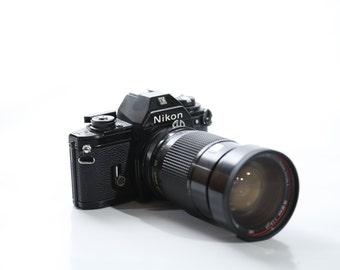 Nikon EM w/ Vivitar Series 1 28-90mm