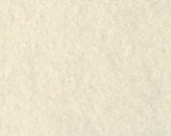 100% Wool Felt 20cm x 30cm 1.5mm thick - 501 Off White