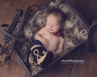 Baby Boots - Baby Cowboy Boots - Baby Boy Boots - Girl Boots - Girl Baby Boots - Boy Baby Boots Photo Prop - Cowgirl Boots - Cowboy Boot
