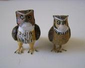 Owl Miniature pair