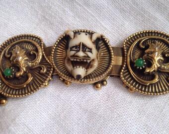 Florenza Japanese Noh Devil Mask Bracelet
