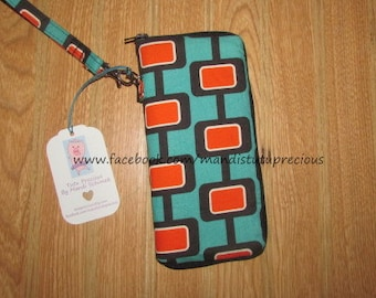 Zipper Wristlet Wallet - Zipper Wallet - Wristlet - Wristlet Wallet - Ready to Ship