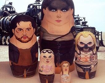 Mad Max: Fury Road Matryoshka Dolls