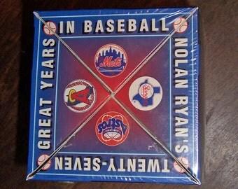 Nolan Ryan 1993 Fotoball Baseball Mint Condition Unopened Original Packaging Twenty Seven Great Years in Baseball CHEVRON
