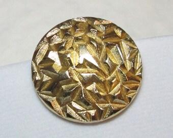 Vintage Tama Western Germany Dress or Scarf Clip, Gold Tone