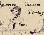 Reserved custom listing for ROPEDADDY
