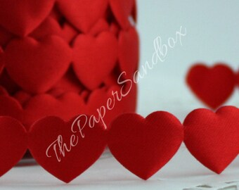 Red Heart Trim, Red Heart Ribbon, Gift Wrapping, Baby Halos, Gift Wrapping, Party Supplies, Weddings, Sewing