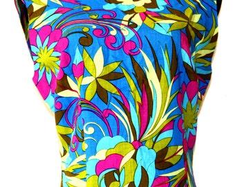 Vintage Tropical Dress