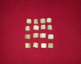 16 Antler Beads Mixed Lot 55
