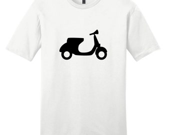 Motor Scooter - Moped Scooter Bike T-Shirt