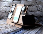 Personalised Docking Station - Bedside or desk organisation - Storage for mobiles, fitbit, watch, change, keys