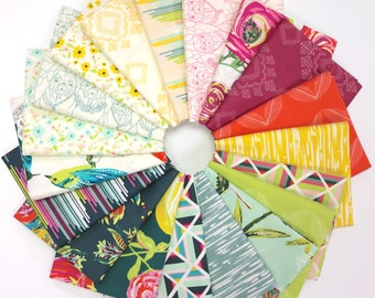 Joie de Vivre - Fat Quarter Bundle by Bari J for Art Gallery Fabrics -  19 prints