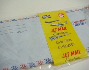 10 Air Mail Envelopes - Hytone Jet Mail Envelopes